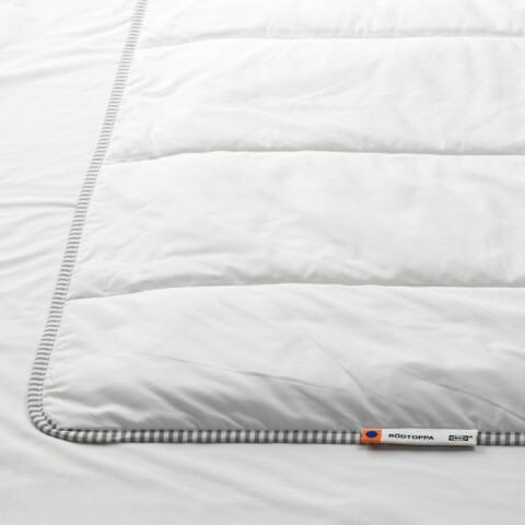 Одеяло прохладное РОДТОППА артикуль № 303.697.65 в наличии. Онлайн сайт IKEA Республика Беларусь. Быстрая доставка и монтаж.