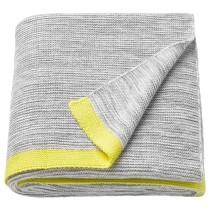 Плед ЛИЗАМАРИ желтый артикуль № 403.537.78 в наличии. Online сайт IKEA РБ. Недорогая доставка и монтаж.