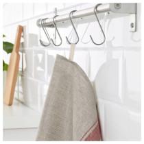 Полотенце кухонное ВАРДАГЕН красный артикуль № 103.790.39 в наличии. Online магазин IKEA РБ. Недорогая доставка и монтаж.