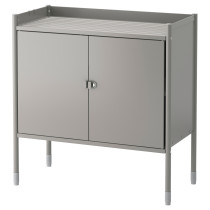 Шкаф для дома/сада ХИНДЭ серый артикуль № 903.774.18 в наличии. Онлайн каталог IKEA РБ. Быстрая доставка и соборка.