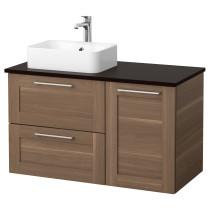 Шкаф с раковиной 45x32 см ГОДМОРГОН/ТОЛКЕН / ХОРВИК антрацит артикуль № 592.084.75 в наличии. Онлайн магазин IKEA Беларусь. Быстрая доставка и монтаж.