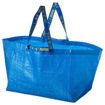 Сумка, большая ФРАКТА синий артикуль № 303.787.41 в наличии. Онлайн сайт IKEA Республика Беларусь. Недорогая доставка и монтаж.