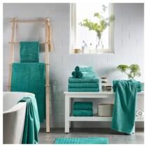 Банное полотенце ВОГШЁН бирюзовый артикуль № 603.536.35 в наличии. Онлайн каталог IKEA Республика Беларусь. Недорогая доставка и установка.