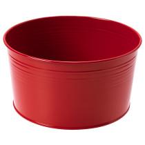 Кашпо СОККЕР красный артикуль № 703.635.06 в наличии. Интернет сайт IKEA РБ. Недорогая доставка и установка.