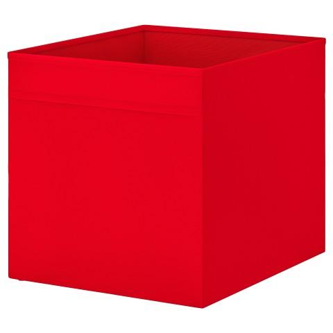 Коробка ДРЁНА красный артикуль № 303.805.03 в наличии. Online сайт ИКЕА РБ. Быстрая доставка и монтаж.