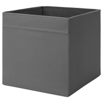 Коробка ДРЁНА темно-серый артикуль № 403.823.99 в наличии. Онлайн каталог IKEA Минск. Быстрая доставка и монтаж.