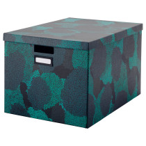 Коробка с крышкой ТЬЕНА артикуль № 903.743.54 в наличии. Онлайн магазин IKEA Минск. Быстрая доставка и соборка.
