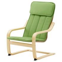 Кресло детское ПОЭНГ зеленый артикуль № 503.801.06 в наличии. Online магазин IKEA Республика Беларусь. Недорогая доставка и установка.