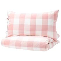 Пододеяльник и 1 наволочка ЭММИ РУТА светло-розовый артикуль № 803.800.82 в наличии. Онлайн сайт IKEA РБ. Недорогая доставка и монтаж.