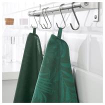 Полотенце кухонное ВИЛДКАПРИФОЛ зеленый артикуль № 403.655.35 в наличии. Онлайн сайт ИКЕА Республика Беларусь. Недорогая доставка и установка.