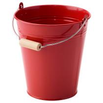 Ведро/горшок СОККЕР красный артикуль № 903.635.05 в наличии. Online магазин IKEA РБ. Недорогая доставка и соборка.