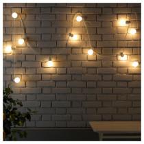 Гирлянда, 12 светодиодов СТРОЛА артикуль № 903.668.77 в наличии. Онлайн каталог IKEA Минск. Недорогая доставка и установка.