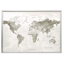 Картина с рамой БЬЁРКСТА серый/белый артикуль № 091.977.47 в наличии. Online сайт IKEA Беларусь. Недорогая доставка и установка.