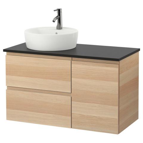 Шкаф с раковиной 45 см ГОДМОРГОН/ТОЛКЕН / ТОРНВИКЕН антрацит артикуль № 291.912.59 в наличии. Интернет сайт IKEA РБ. Быстрая доставка и монтаж.