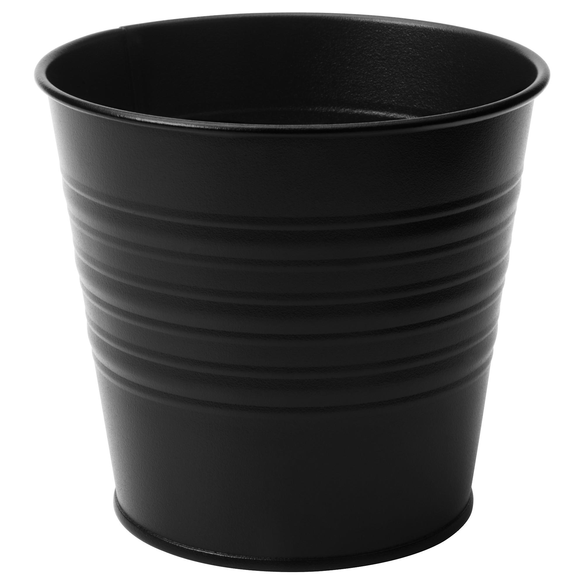 Кашпо СОККЕР черный артикуль № 203.947.65 в наличии. Online сайт IKEA Минск. Быстрая доставка и установка.