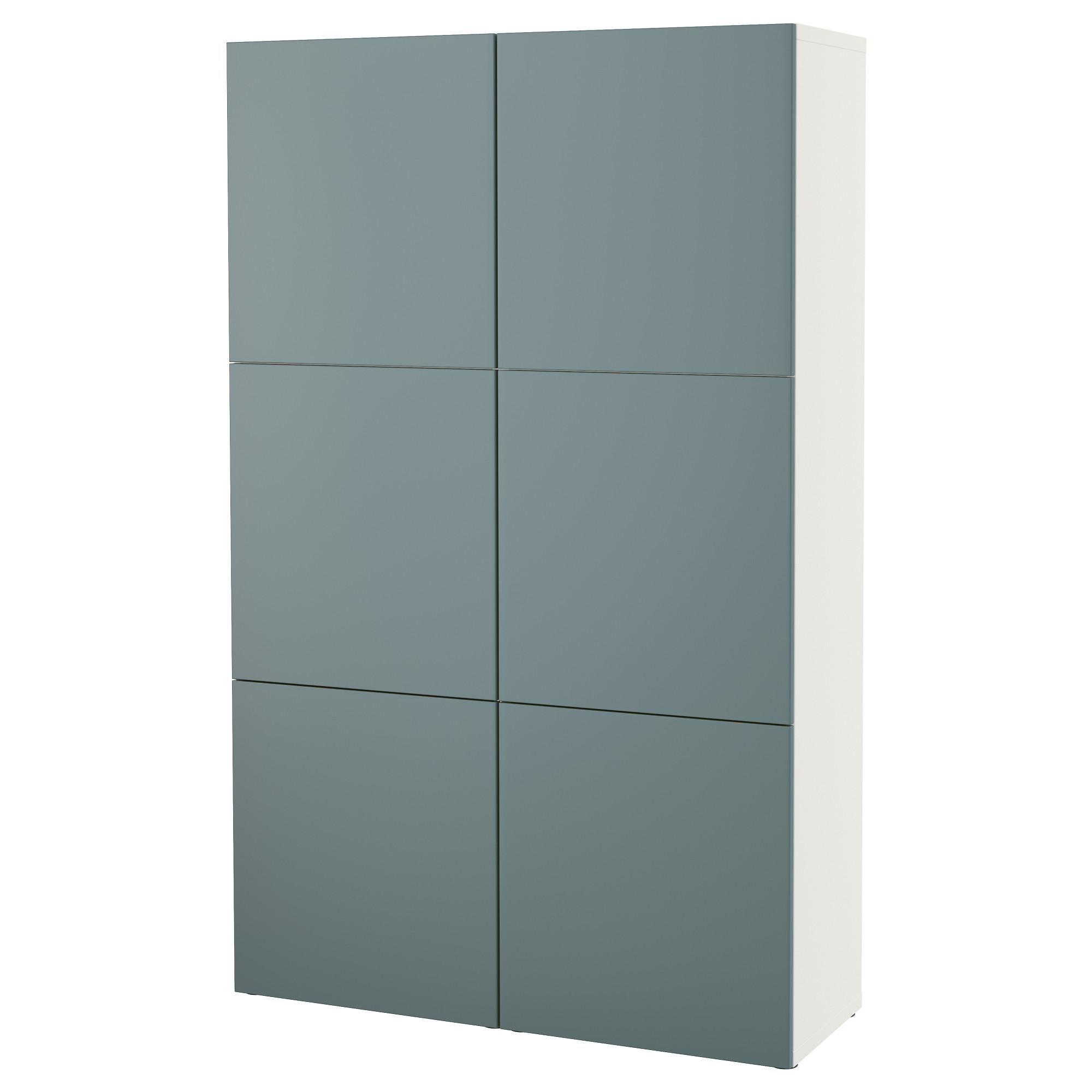 Комбинация для хранения с дверцами БЕСТО белый артикуль № 092.471.58 в наличии. Online каталог IKEA Беларусь. Недорогая доставка и соборка.