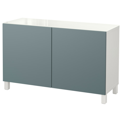 Комбинация для хранения с дверцами БЕСТО белый артикуль № 792.452.26 в наличии. Онлайн магазин IKEA РБ. Быстрая доставка и установка.