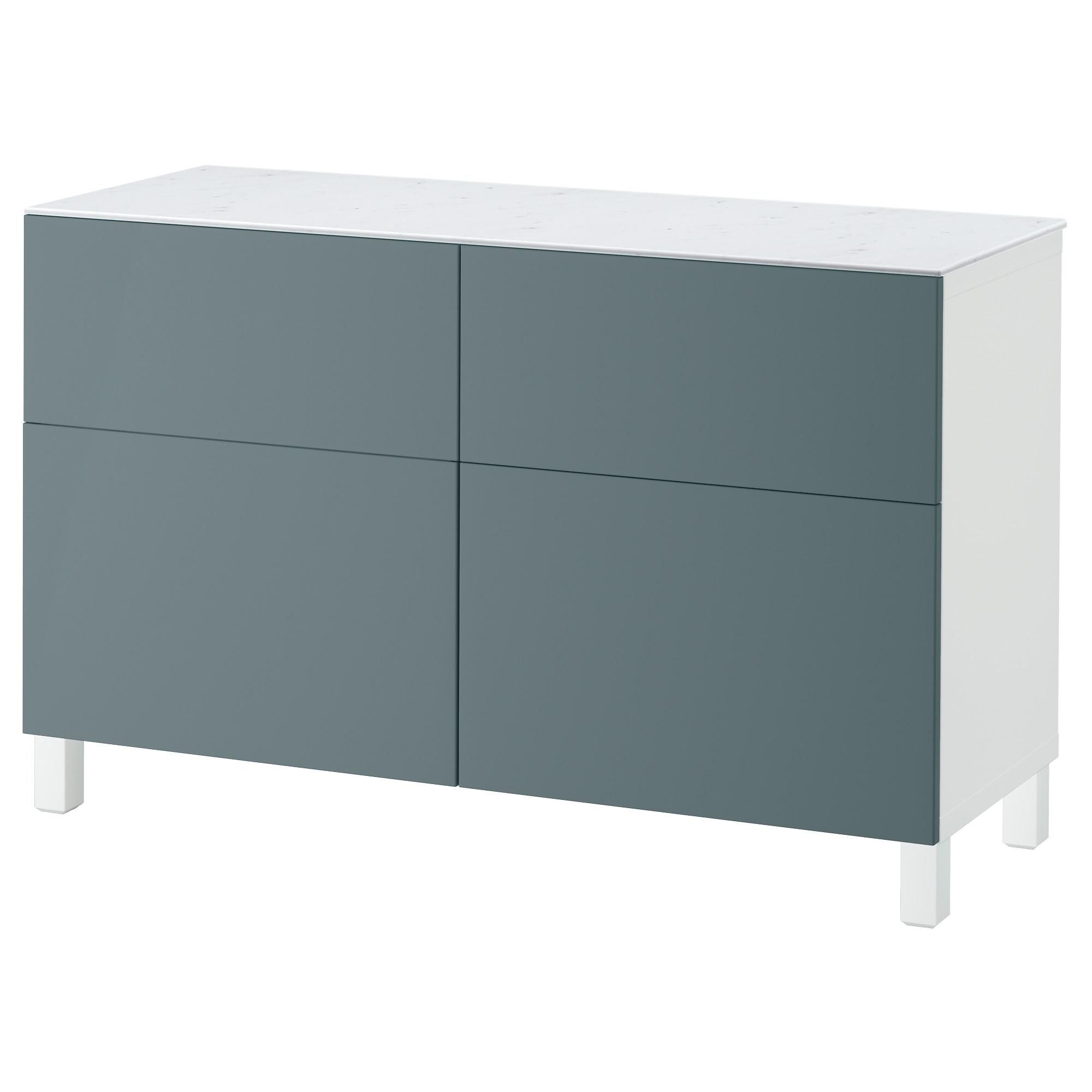 Комбинация для хранения с дверцами, ящиками БЕСТО белый артикуль № 192.447.10 в наличии. Интернет магазин IKEA Минск. Быстрая доставка и соборка.