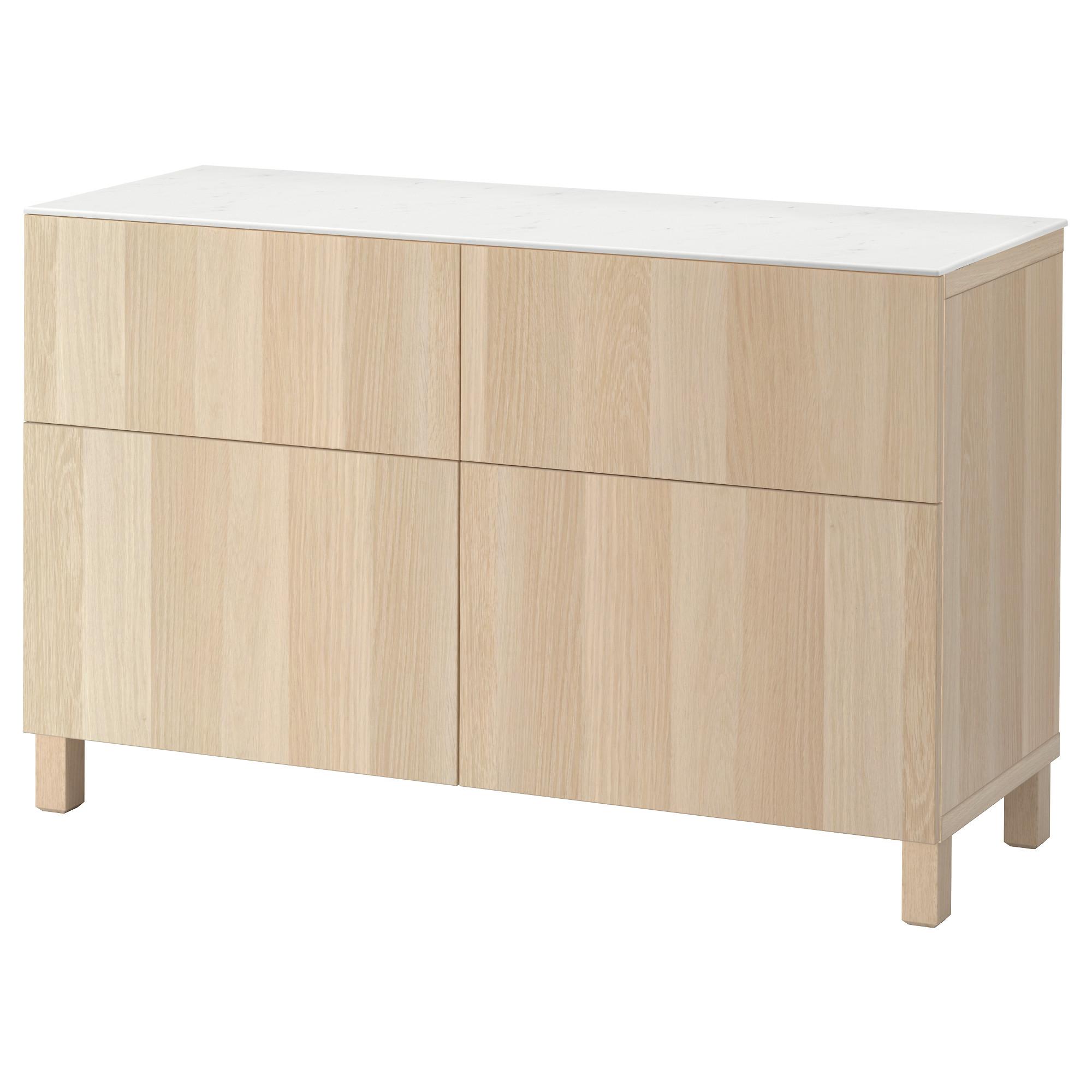 Комбинация для хранения с дверцами, ящиками БЕСТО артикуль № 692.447.22 в наличии. Интернет магазин IKEA Минск. Быстрая доставка и установка.