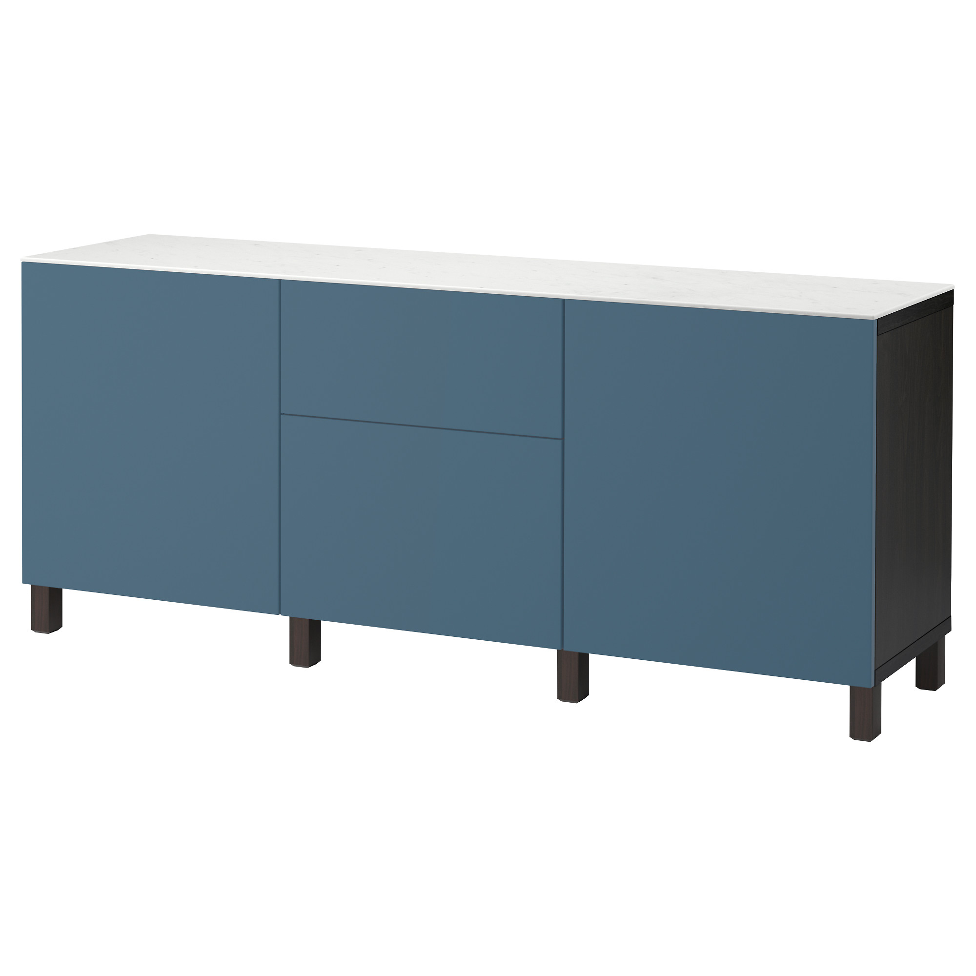 Комбинация для хранения с дверцами, ящиками БЕСТО темно-синий артикуль № 692.447.55 в наличии. Онлайн каталог IKEA РБ. Недорогая доставка и монтаж.