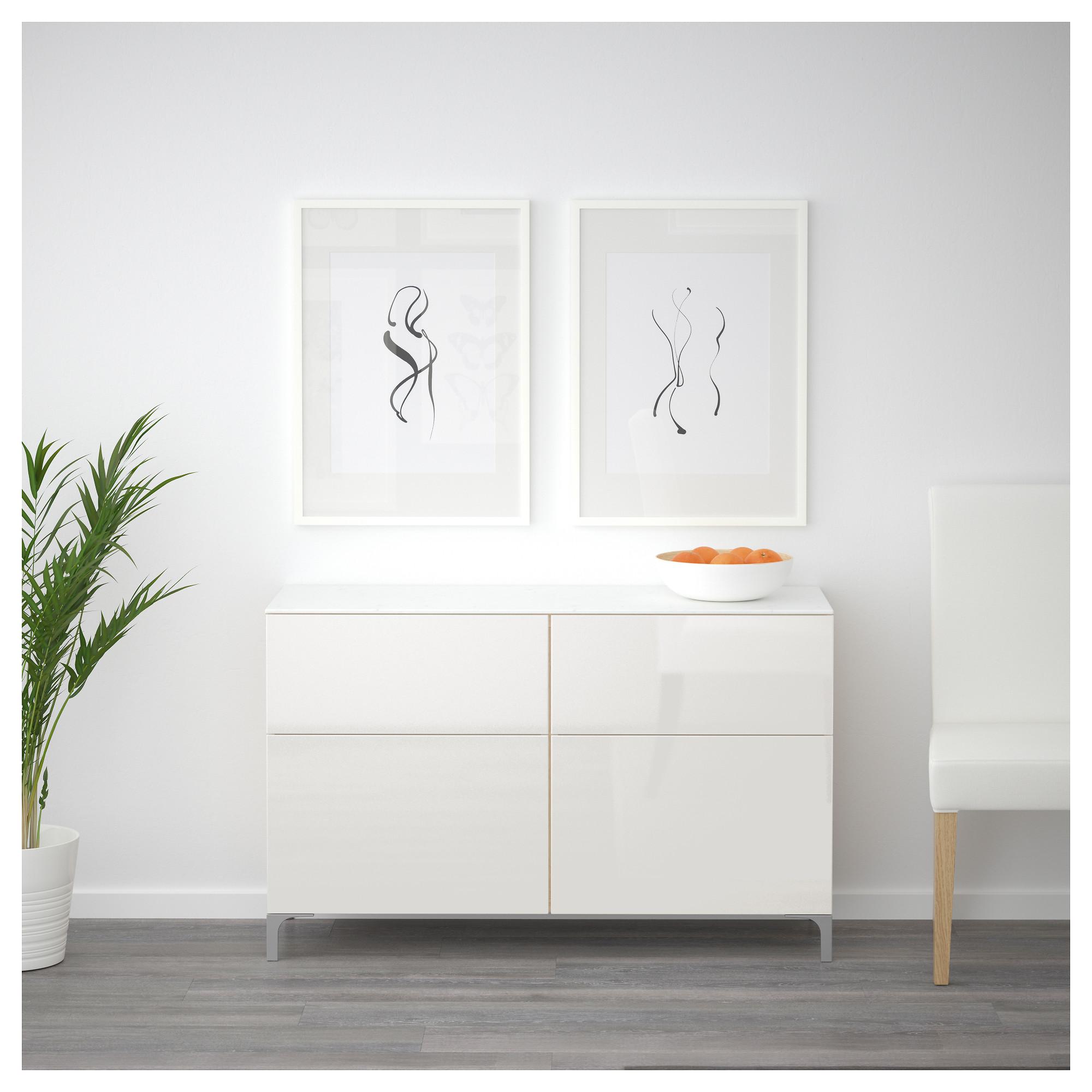 Комбинация для хранения с дверцами, ящиками БЕСТО артикуль № 792.758.74 в наличии. Интернет сайт IKEA Республика Беларусь. Быстрая доставка и соборка.