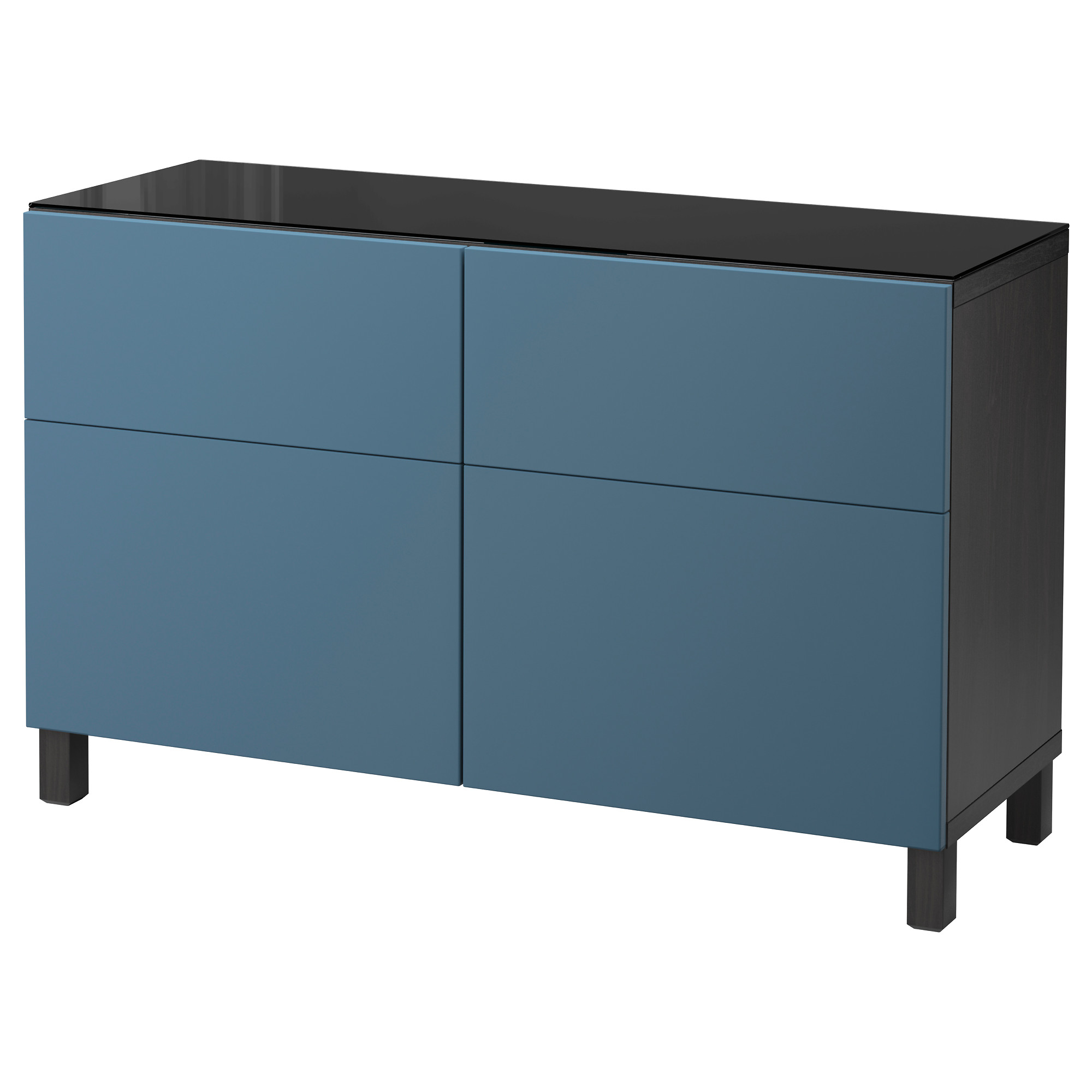 Комбинация для хранения с ящиками БЕСТО темно-синий артикуль № 092.452.44 в наличии. Online магазин IKEA Беларусь. Недорогая доставка и соборка.