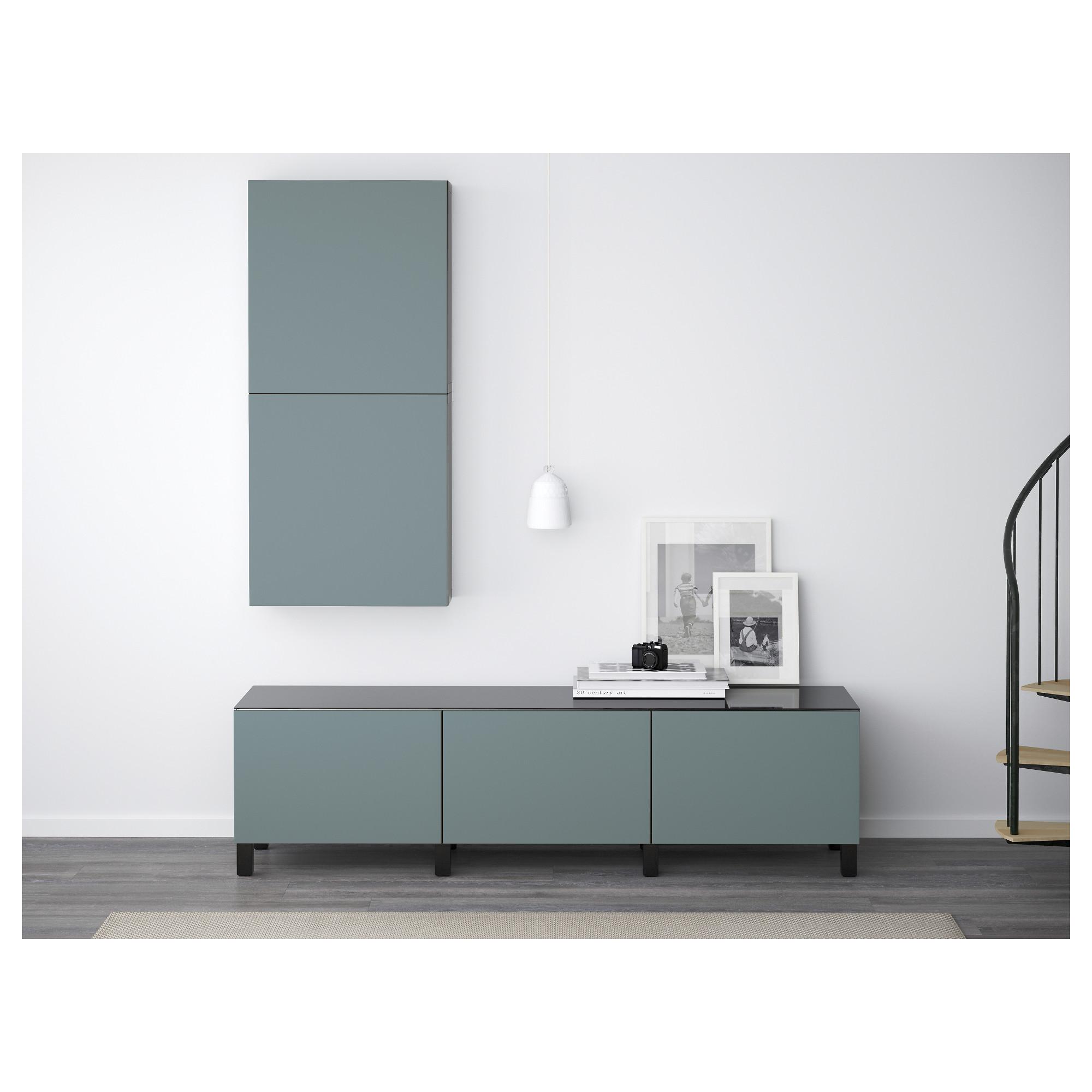 Комбинация для хранения с ящиками БЕСТО артикуль № 292.450.64 в наличии. Онлайн магазин IKEA РБ. Быстрая доставка и установка.