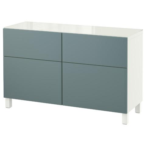 Комбинация для хранения с ящиками БЕСТО белый артикуль № 292.452.43 в наличии. Онлайн магазин IKEA Республика Беларусь. Быстрая доставка и соборка.