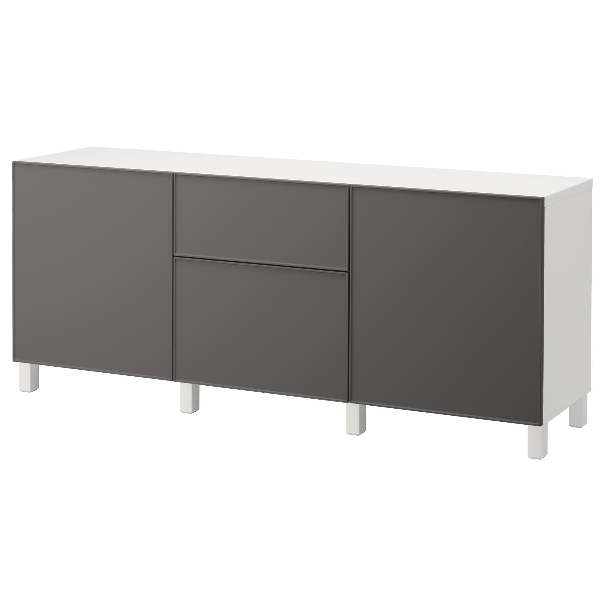 Комбинация для хранения с ящиками БЕСТО темно-серый артикуль № 392.494.67 в наличии. Интернет сайт IKEA РБ. Недорогая доставка и соборка.