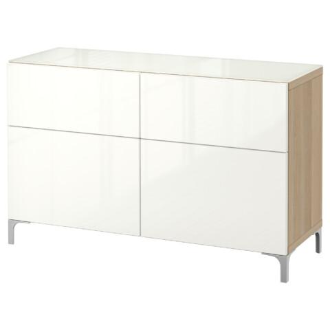Комбинация для хранения с ящиками БЕСТО артикуль № 492.760.59 в наличии. Онлайн сайт IKEA Беларусь. Быстрая доставка и установка.