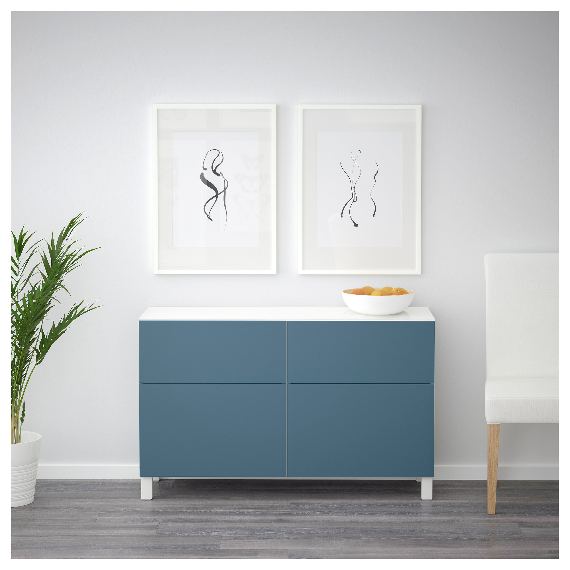 Комбинация для хранения с ящиками БЕСТО темно-синий артикуль № 792.452.45 в наличии. Интернет сайт IKEA Беларусь. Недорогая доставка и соборка.