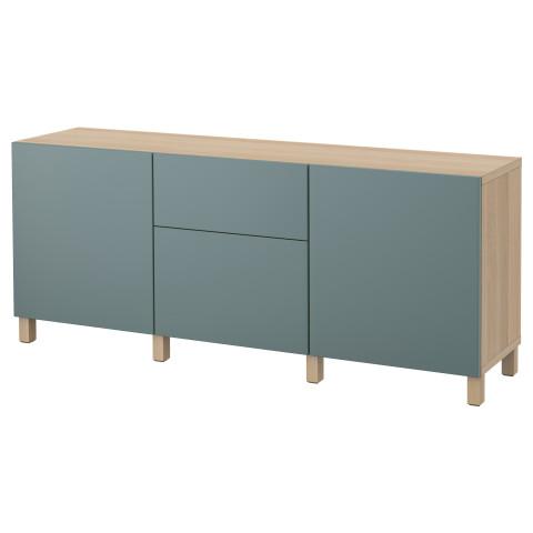Комбинация для хранения с ящиками БЕСТО артикуль № 792.492.86 в наличии. Интернет сайт IKEA Республика Беларусь. Быстрая доставка и монтаж.