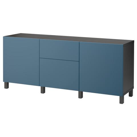 Комбинация для хранения с ящиками БЕСТО темно-синий артикуль № 892.494.36 в наличии. Онлайн каталог ИКЕА РБ. Недорогая доставка и установка.