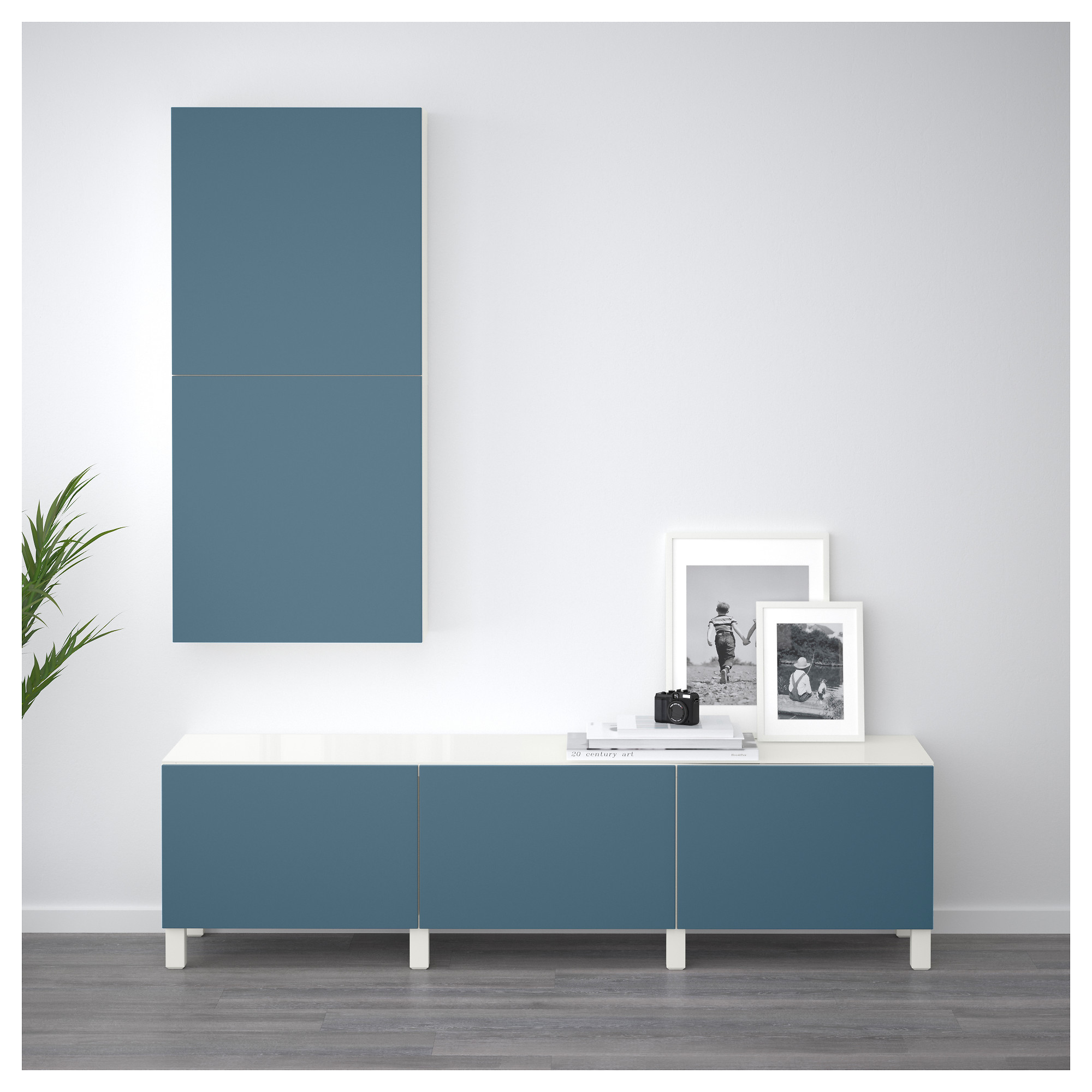 Комбинация для хранения с ящиками БЕСТО темно-синий артикуль № 992.450.70 в наличии. Интернет каталог IKEA РБ. Недорогая доставка и монтаж.