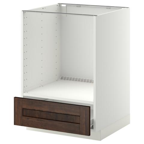 Напольный шкаф для духовки, с ящиком МЕТОД / ФОРВАРА белый артикуль № 092.616.63 в наличии. Онлайн магазин IKEA РБ. Недорогая доставка и соборка.