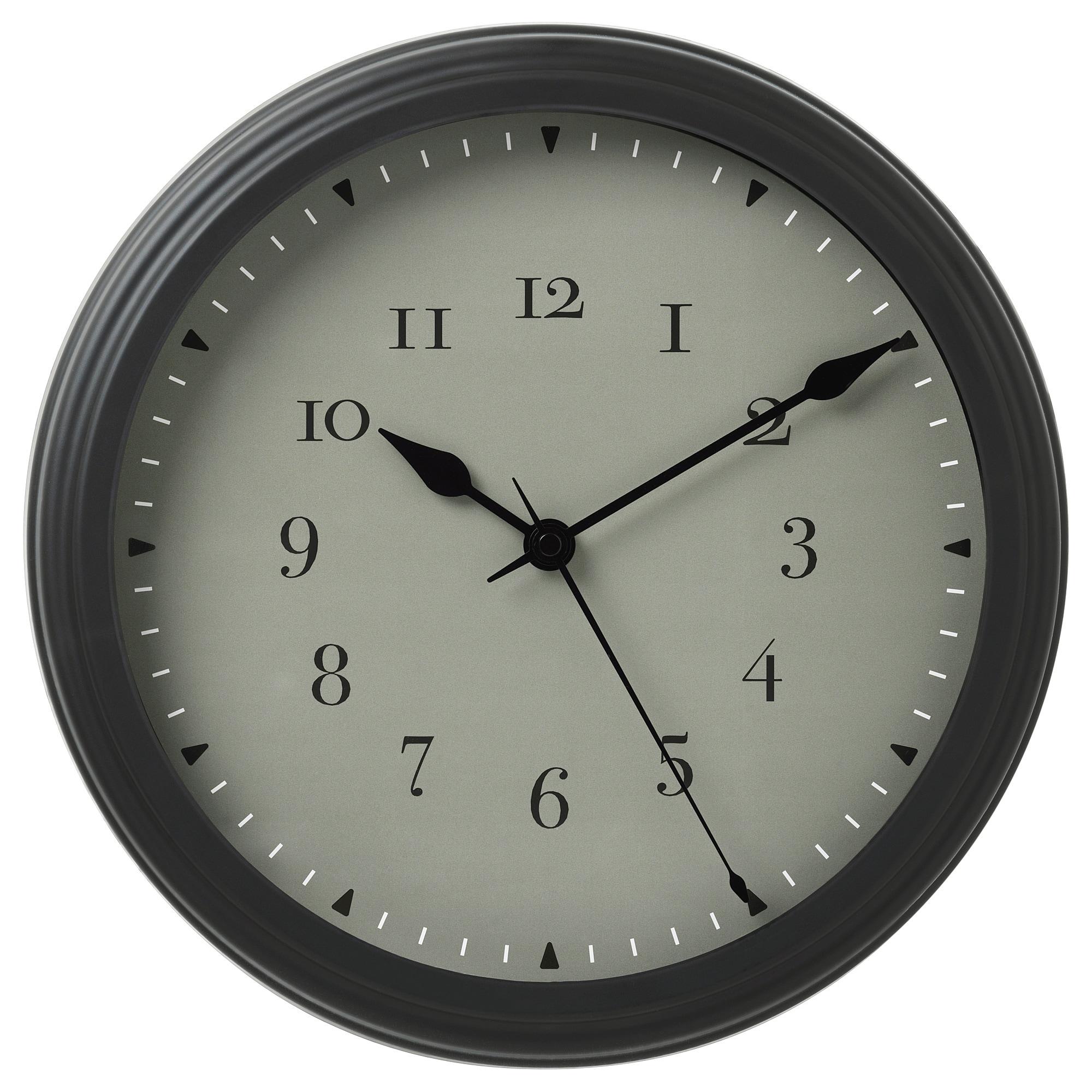 Настенные часы ВИСШАН артикуль № 603.741.43 в наличии. Интернет сайт IKEA Беларусь. Быстрая доставка и установка.