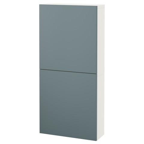 Навесной шкаф с 2 дверями БЕСТО белый артикуль № 292.482.70 в наличии. Online каталог IKEA Беларусь. Быстрая доставка и установка.