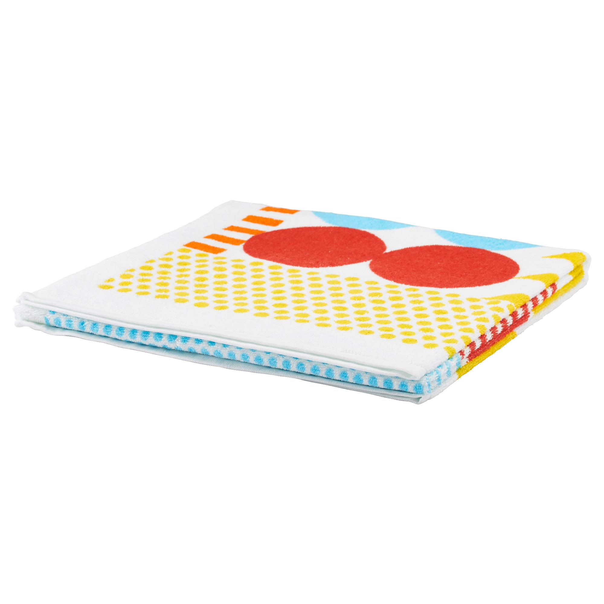 Полотенце НИММЕРН разноцветный артикуль № 603.704.23 в наличии. Онлайн магазин IKEA Беларусь. Недорогая доставка и монтаж.