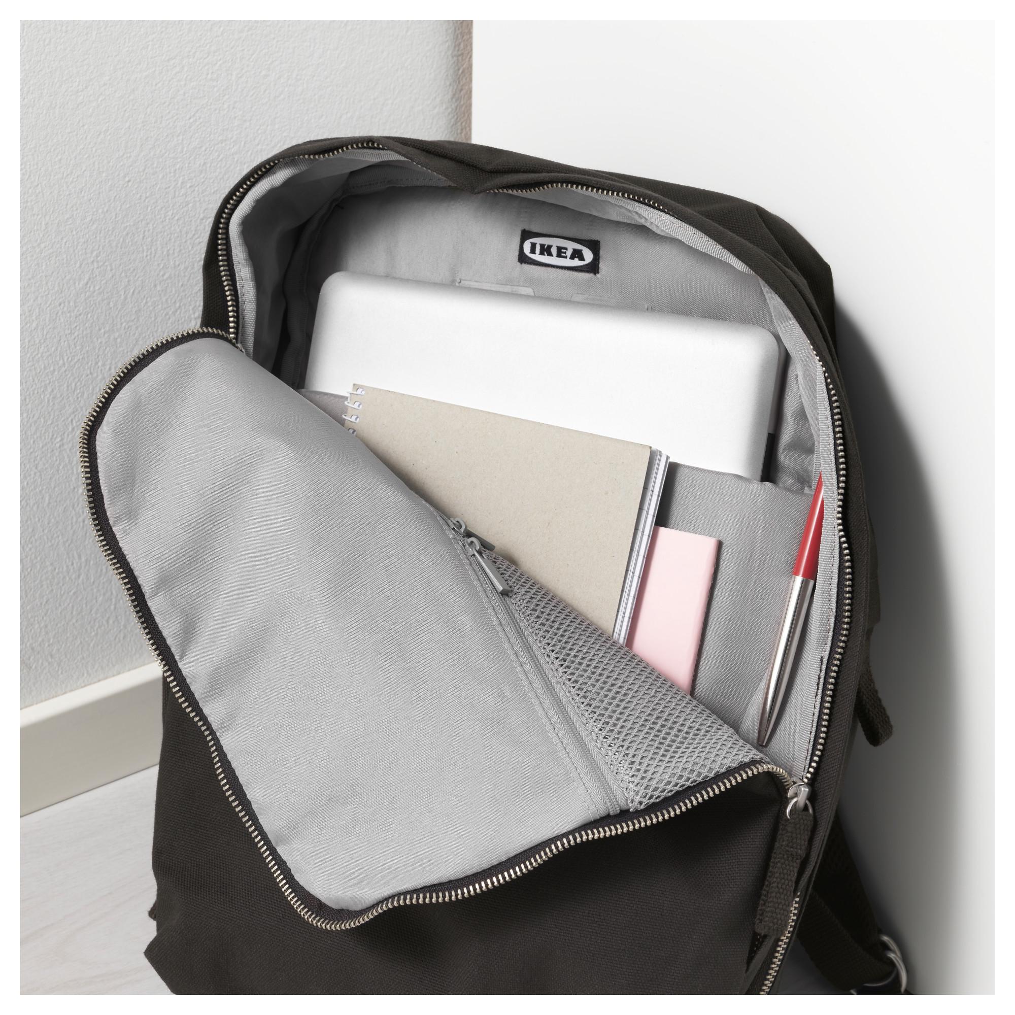 Рюкзак ФОРЕНКЛА черный артикуль № 603.790.70 в наличии. Интернет сайт IKEA РБ. Недорогая доставка и установка.