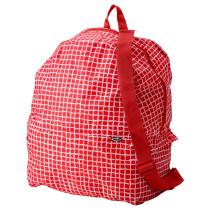 Рюкзак КНЭЛЛА красный/белый артикуль № 303.791.23 в наличии. Онлайн сайт IKEA Минск. Быстрая доставка и монтаж.