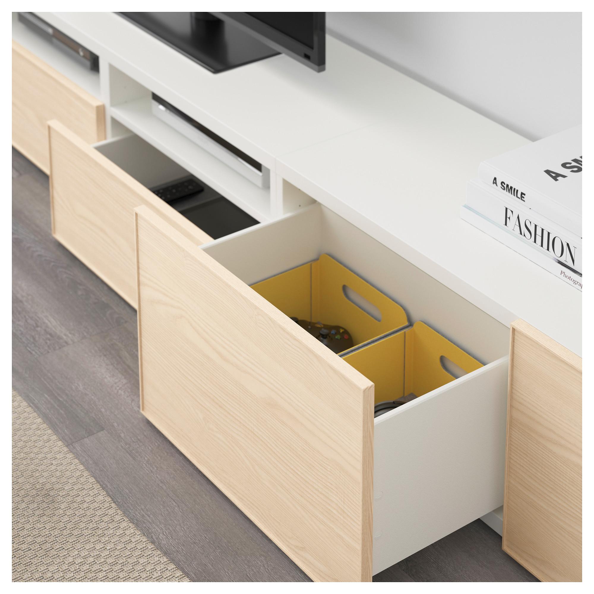 Шкаф для ТВ, комбинация БЕСТО белый артикуль № 192.514.23 в наличии. Онлайн каталог IKEA Республика Беларусь. Недорогая доставка и соборка.