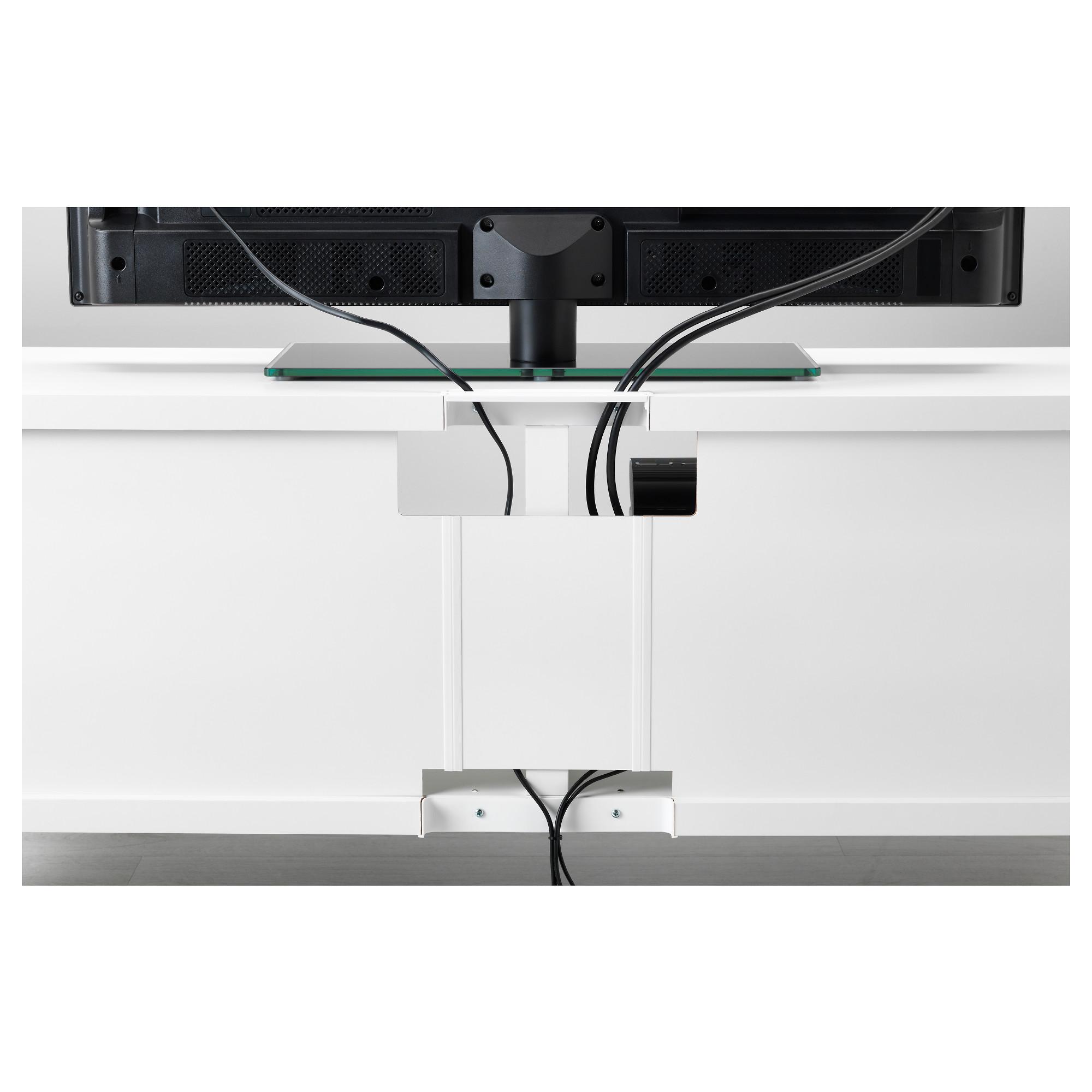Шкаф для ТВ, комбинация БЕСТО белый артикуль № 292.516.77 в наличии. Интернет сайт IKEA Минск. Быстрая доставка и монтаж.