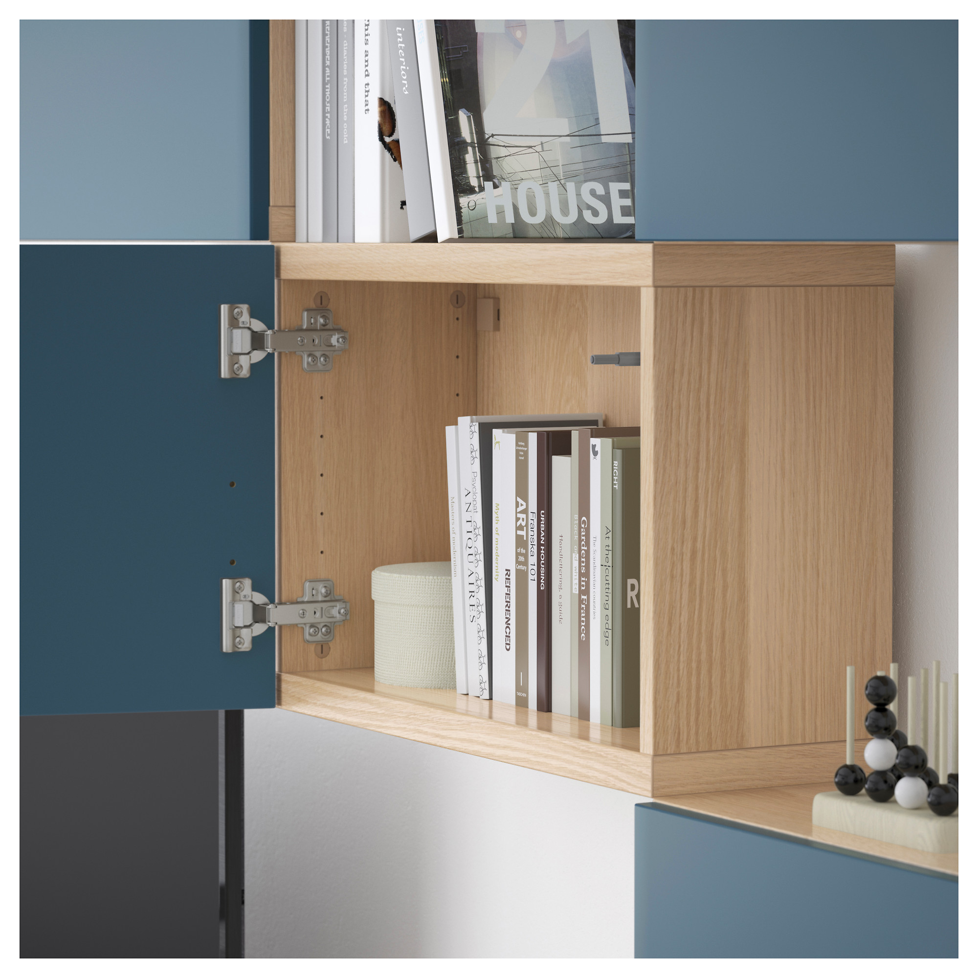 Шкаф для ТВ, комбинация БЕСТО темно-синий артикуль № 592.516.66 в наличии. Интернет магазин IKEA Минск. Недорогая доставка и монтаж.