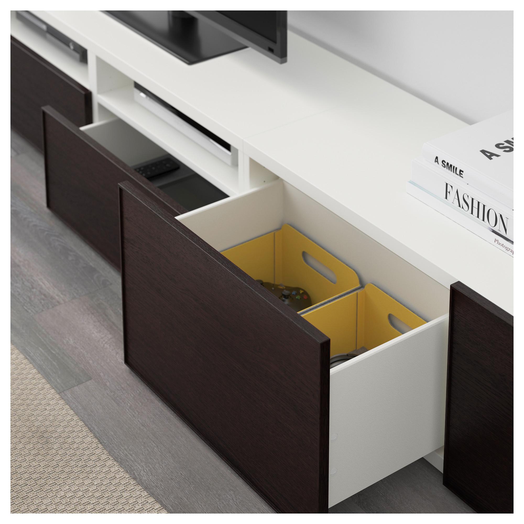 Шкаф для ТВ, комбинация БЕСТО белый артикуль № 992.514.24 в наличии. Online магазин IKEA РБ. Недорогая доставка и монтаж.
