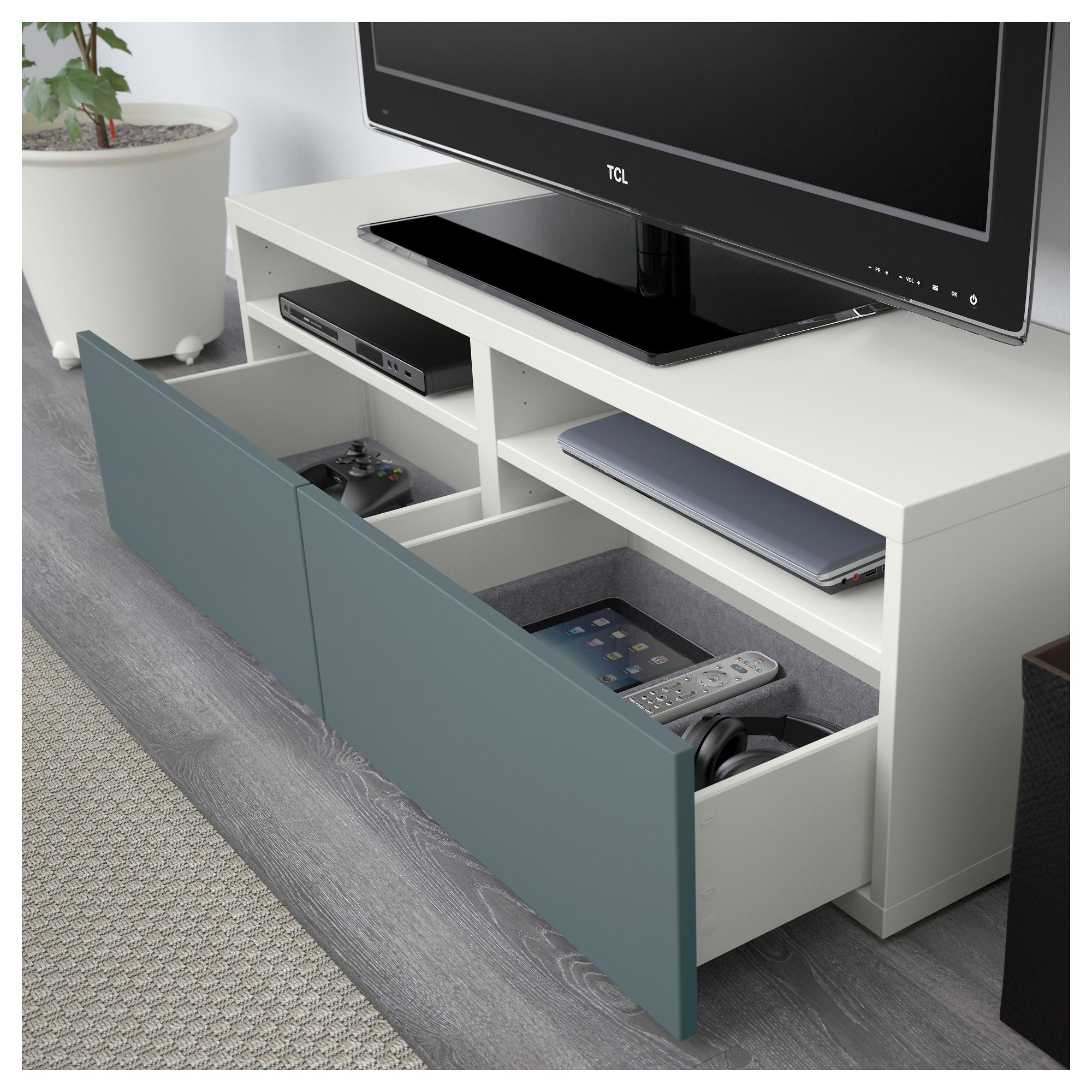 Шкаф для ТВ, комбинированный, стекляные дверцы БЕСТО белый артикуль № 592.504.93 в наличии. Онлайн каталог IKEA Беларусь. Недорогая доставка и монтаж.