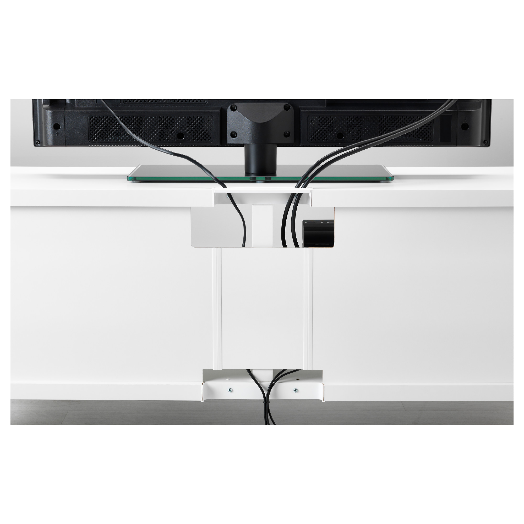 Шкаф для ТВ, комбинированный, стекляные дверцы БЕСТО белый артикуль № 592.504.93 в наличии. Онлайн сайт IKEA Республика Беларусь. Недорогая доставка и монтаж.