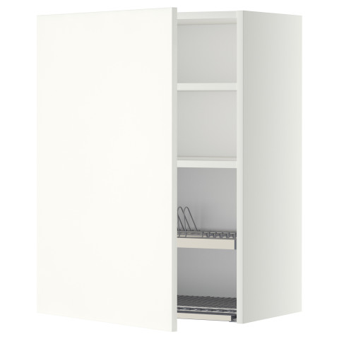 Шкаф навесной с сушкой МЕТОД белый артикуль № 192.261.41 в наличии. Интернет магазин IKEA РБ. Недорогая доставка и соборка.