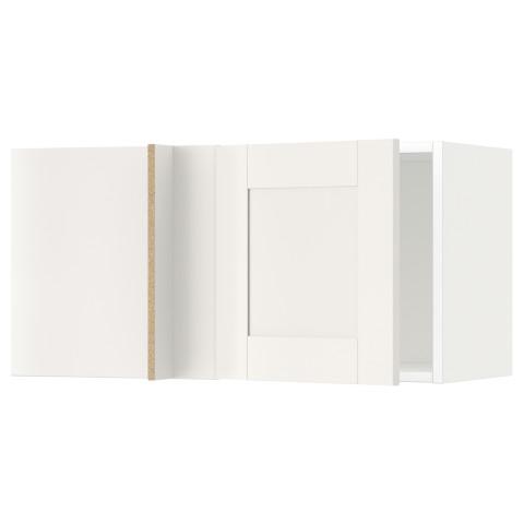 Шкаф навесной угловой МЕТОД белый артикуль № 292.230.00 в наличии. Online каталог IKEA Беларусь. Недорогая доставка и установка.