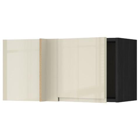 Шкаф навесной угловой МЕТОД черный артикуль № 292.243.49 в наличии. Онлайн магазин ИКЕА РБ. Недорогая доставка и монтаж.