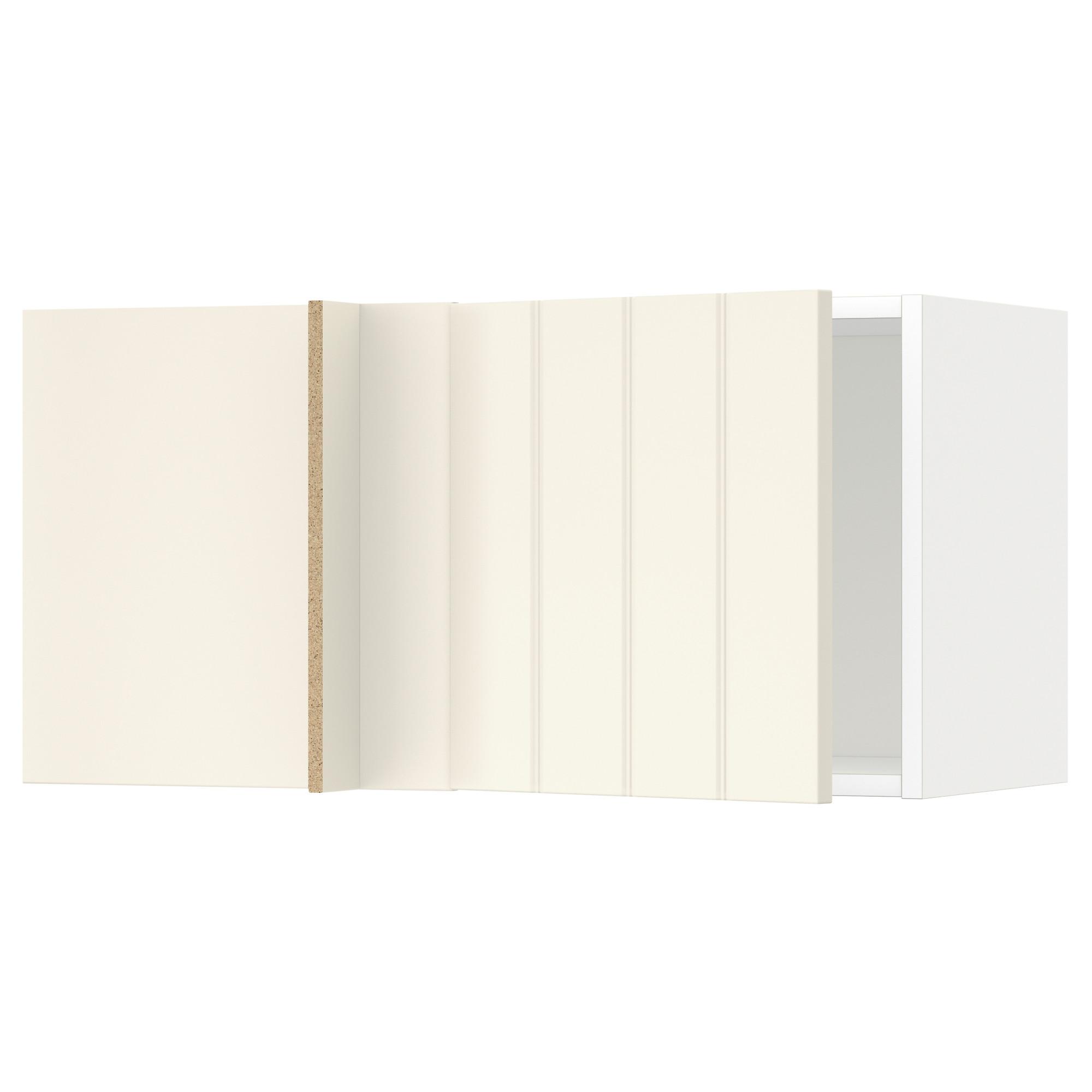Шкаф навесной угловой МЕТОД белый артикуль № 592.264.55 в наличии. Интернет сайт IKEA Беларусь. Быстрая доставка и установка.